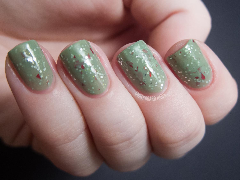 Sassy Lacquer Holiday Assortment | Chalkboard Nails | Nail Art Blog