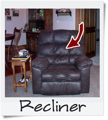 Husband's Recliner