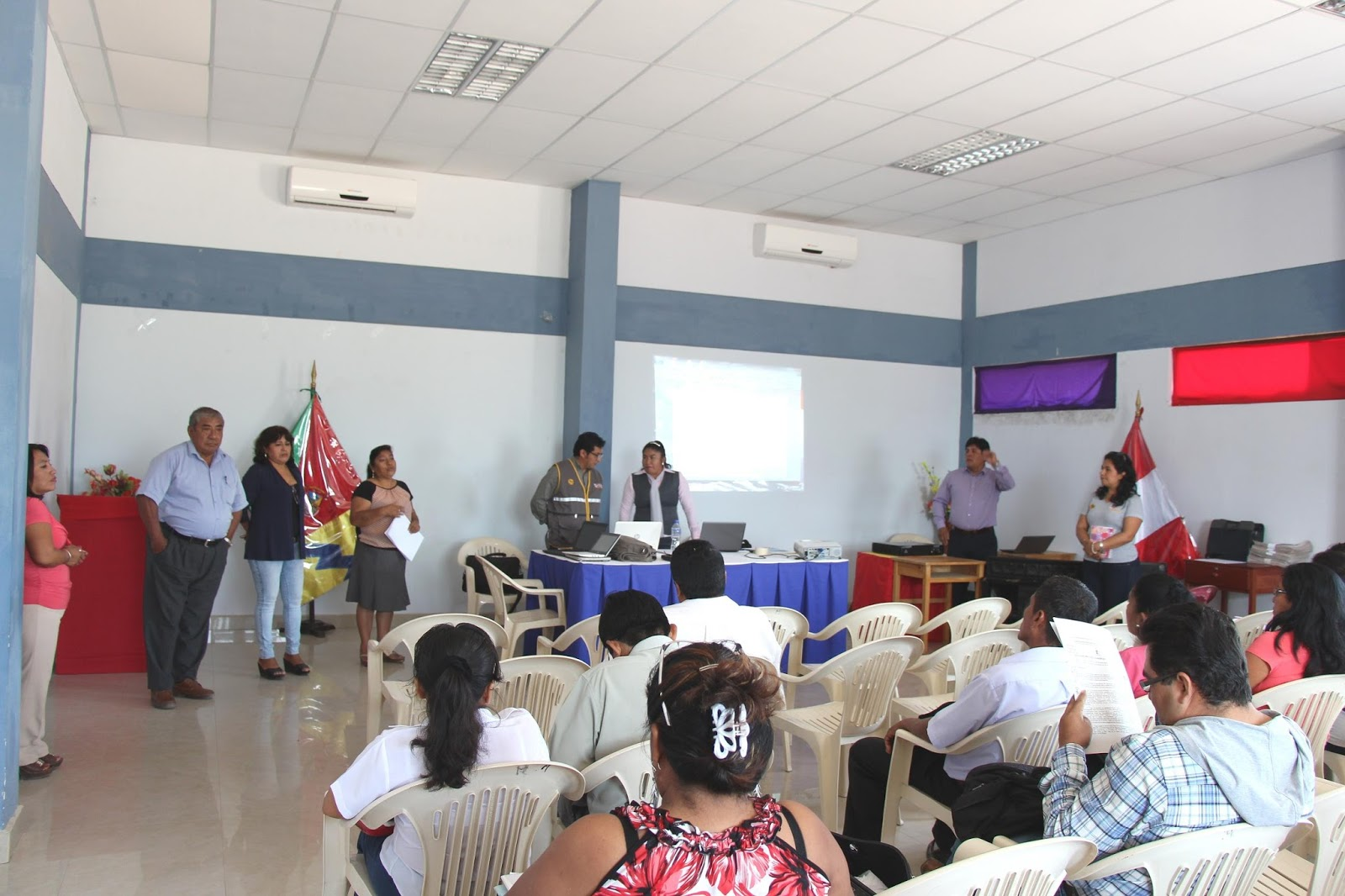 Municipalidad distrital de la matanza realiza el segundo for Municipalidad la matanza