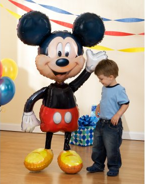 Mickey Mouse Air Walker Balloon from Birthday Express #cbias