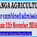 Final Phase counseling for U.G Courses in N.G.Ranga University
