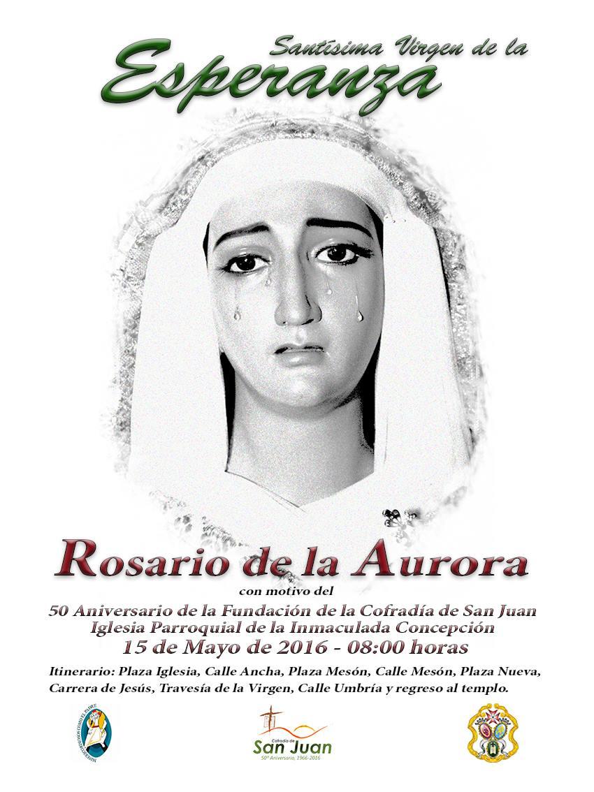 DOMINGO 15 DE MAYO. ROSARIO DE LA AURORA