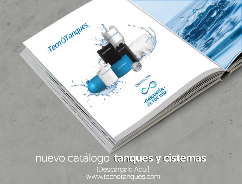Descarga sin costo el nuevo catálogo Tecnotanques