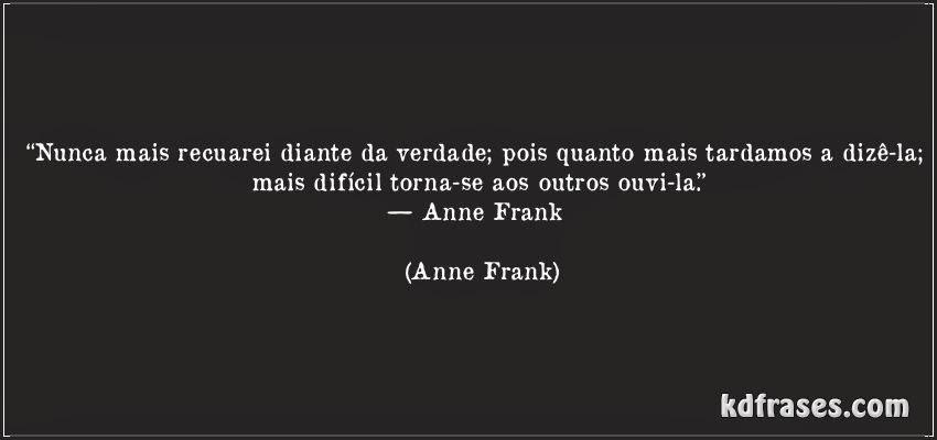 Tromba Uma Tagarela Chamada Anne Frank