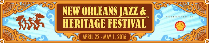 Performers at the 2016 New Orleans Jazz & Heritage Festival aka #JazzFest