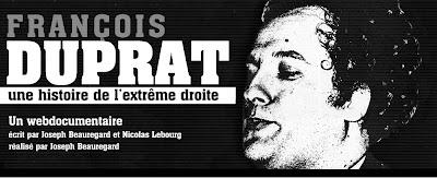 """""""François Duprat, une histoire de l'extrême-droite"""": ce webdoc qui va là où la télé ne va pas"""