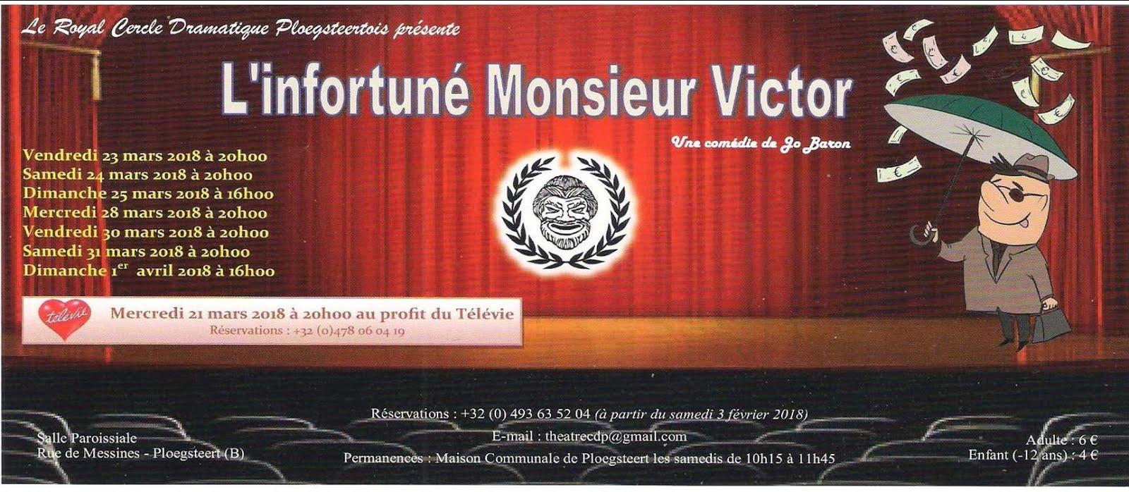 PLOEGSTTERT  Théâtre à partir du 21 mars