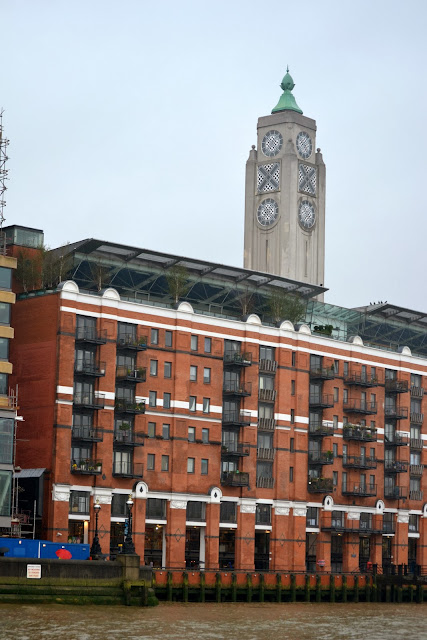 The famous OXO tower, London