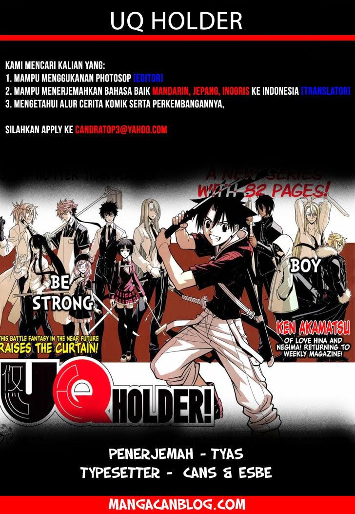 Komik uq holder 049 - kebenaran dari kasus 50 Indonesia uq holder 049 - kebenaran dari kasus Terbaru 1 Baca Manga Komik Indonesia