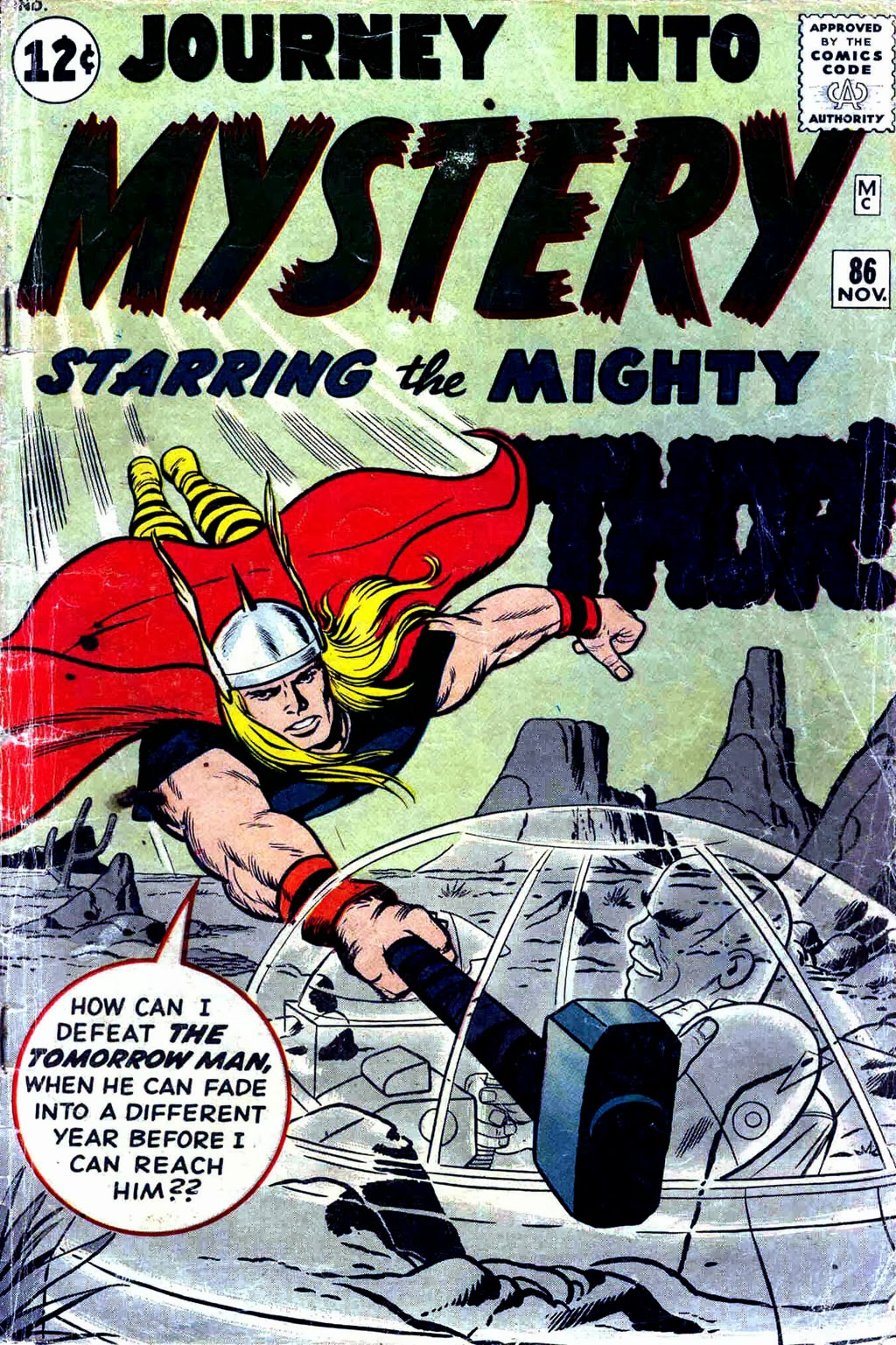 Journey Into Mystery #86 image