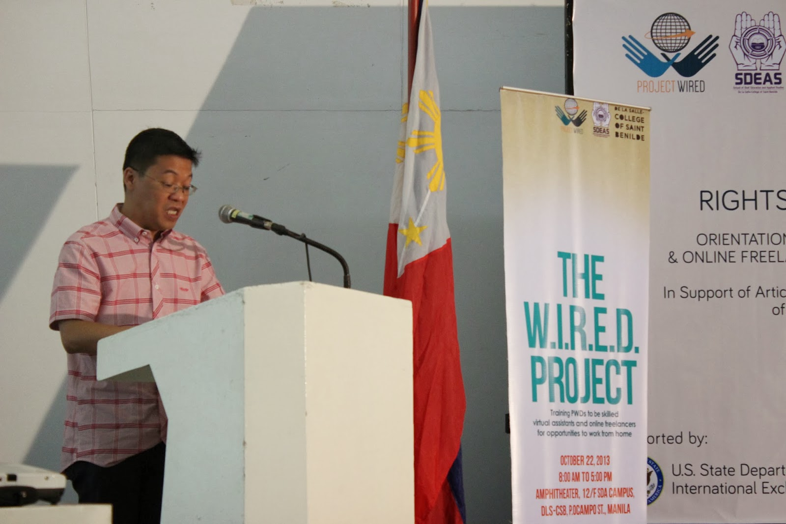 Deaf E-News: Event: The W.I.R.E.D. Project and Seminar on Online ...