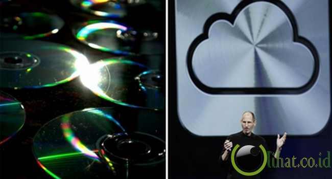 Dulu: Disket, CD - Sekarang: Flashdisk, cloud