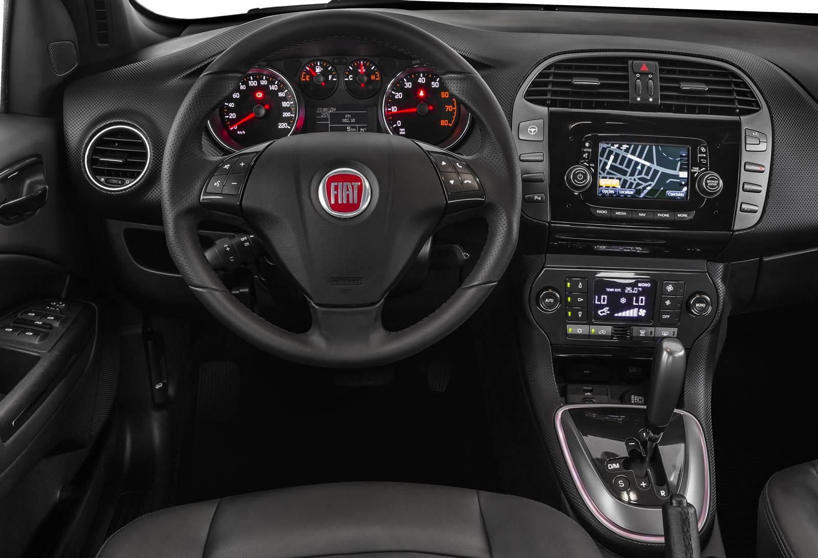 Fiat Bravo Sporting 2016 - painel - Navegação com GPS