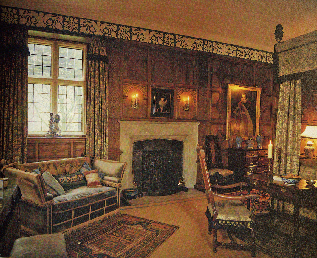The House Had Been Restored And Redecorated With Enviable Lan By The