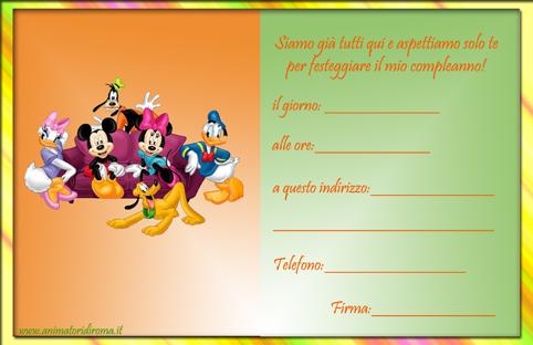 Compleanno Topolino & Friends