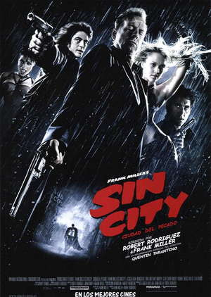 Poster Sin City Unrated 2005