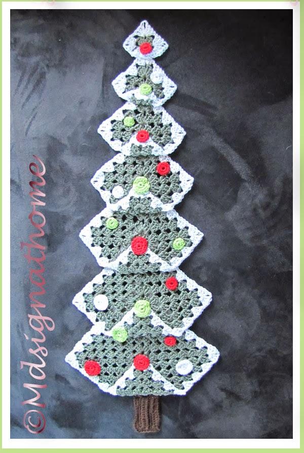Mdsignathome Granny Squares Kerstboom