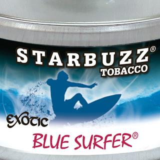 STARBUZZ EXOTIC 'BLUE SURFER' FLAVOR HOOKAH SHISHA TOBACCO