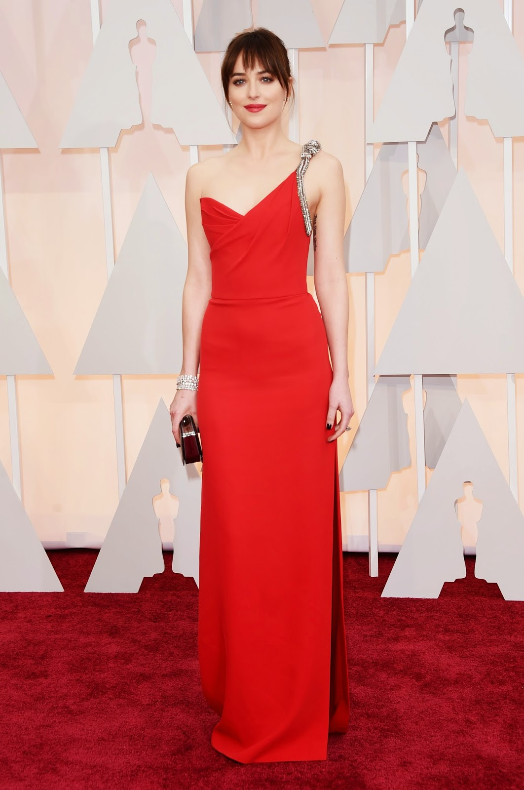 Dakota Johnson Academy Awards 2015 Oscars