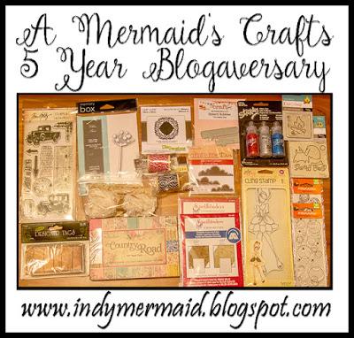 Lisa's 5 year blogaversary giveaway!