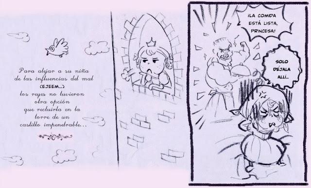 Princesa Margarita, La torre, Kaliparvati