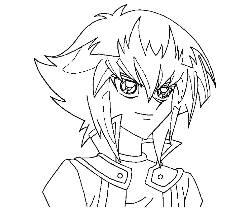yugioh gx coloring pages - photo#5