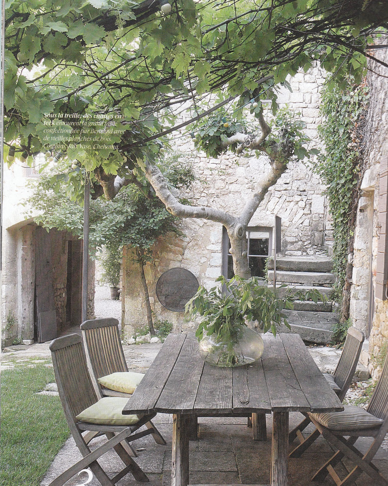 Isabelle h d coration et home staging juin 2012 for Jardin maison de campagne