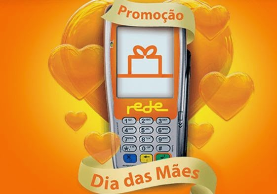 Promoção Dia das Mães Maquinetas Rede