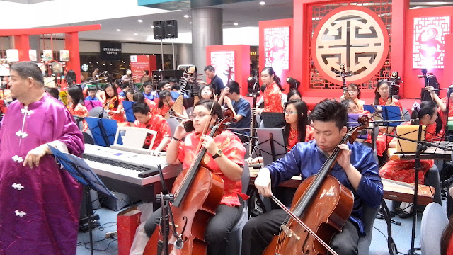 Grace Christian College Chinese Orchestra.