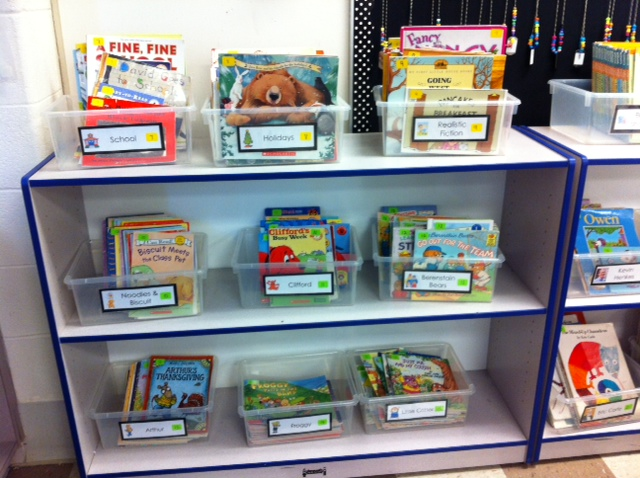 Classroom Organization Ideas First Grade ~ The first grade scoop classroom library organization