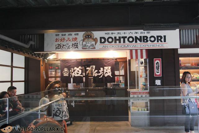 Dohtonbori Okonomiyaki Experience