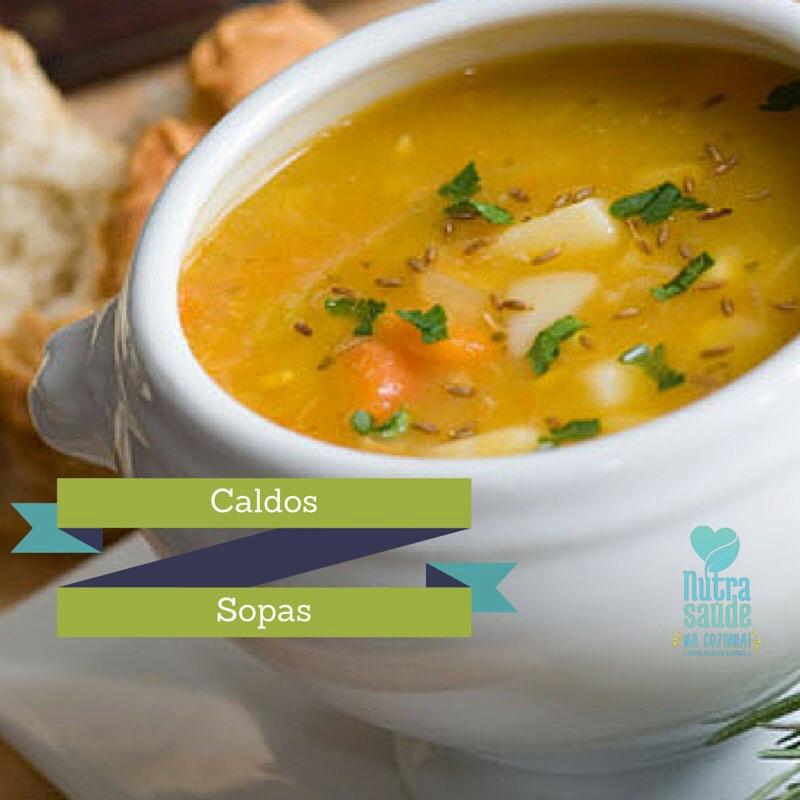 Caldos e Sopas