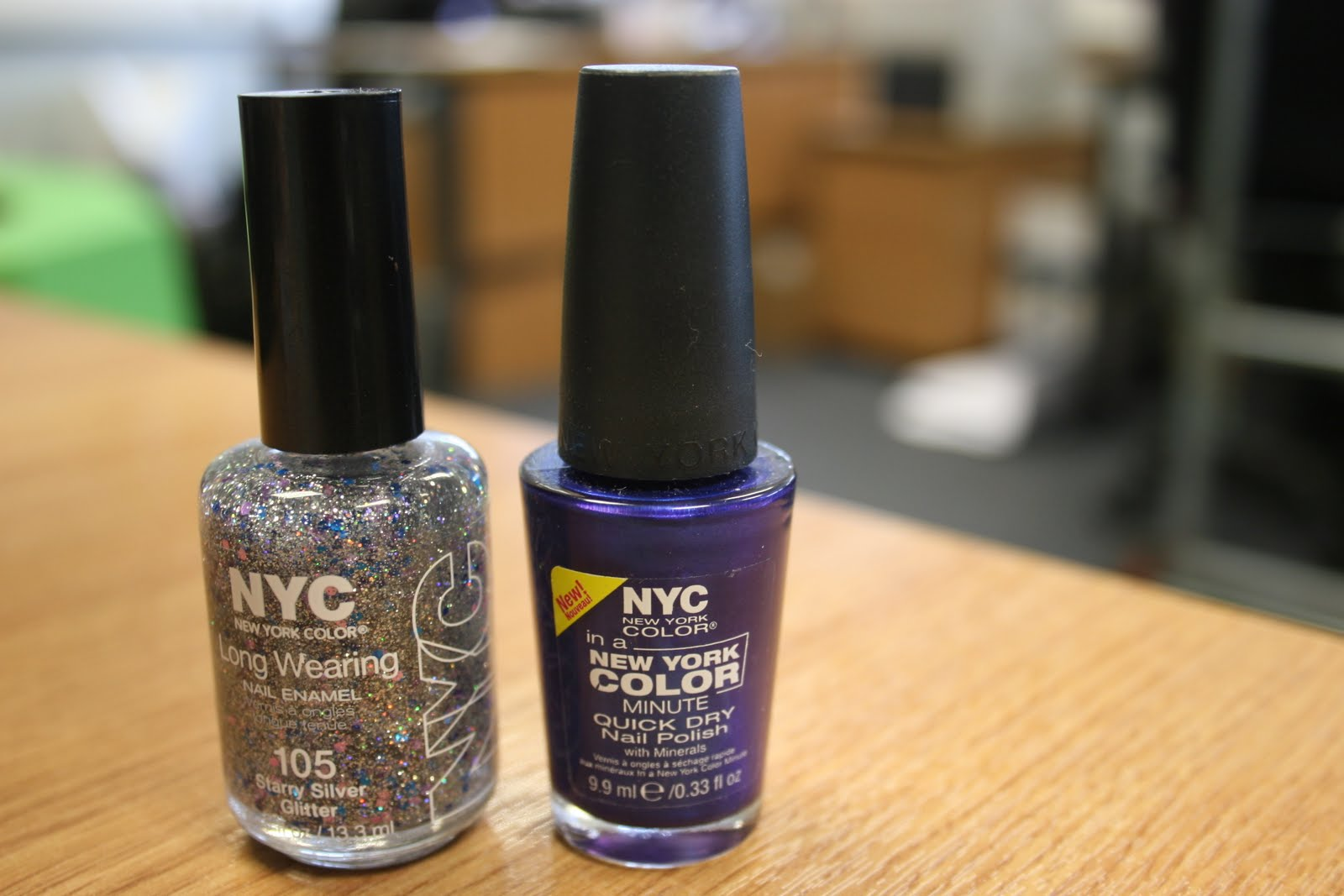 Win! One of 5 sets of NYC nail polish in Starry Silver Glitter and ...