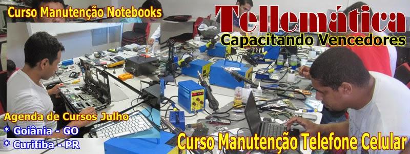 Cursos Manutenção Desbloqueio Celular, Tablets, Smartphones e Notebooks