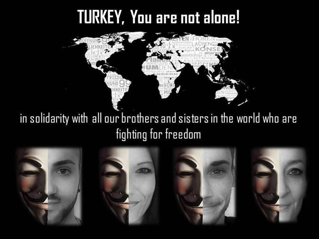 Turkish Government websites hacked by Anonymous, declares %23OpTurkey