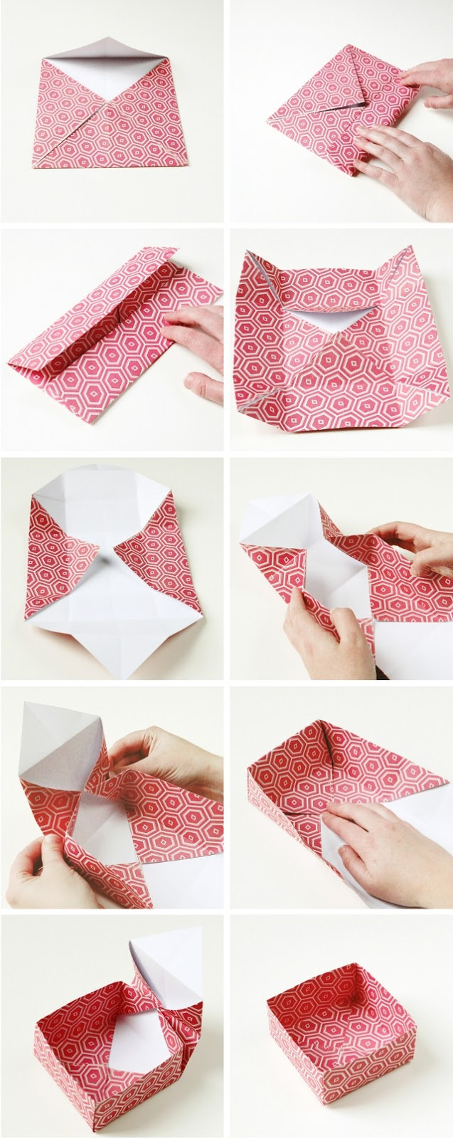 Diy origami gift boxes gathering beauty for Diy paper origami