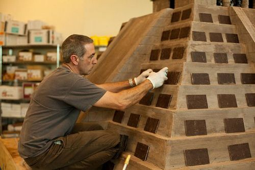 Piramida Coklat Yang Menjadi Rekor Dunia