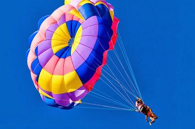 soñar con Paracaídas