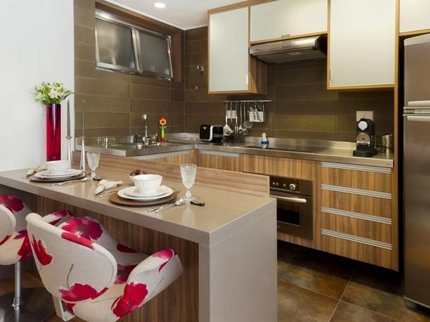 Cozinha e sala conjugada ideias de decora o reciclar e decorar blog de decora o e reciclagem - Mesas pequenas ...