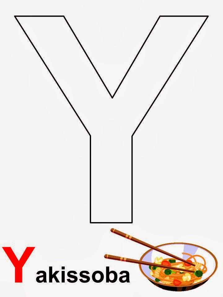 alfabeto letra Y