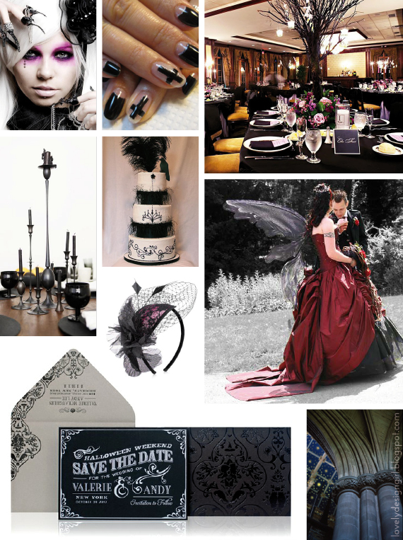 Lovely Design Girl Making Mood Boards