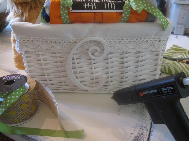baby basket gift idea