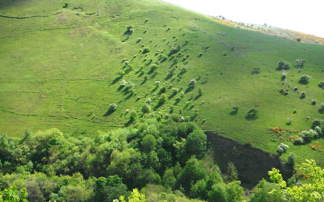 Hills in Ecton