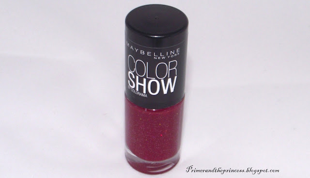 Maybelline Color Show Nail Polish Review - 265 Wine Shimmer