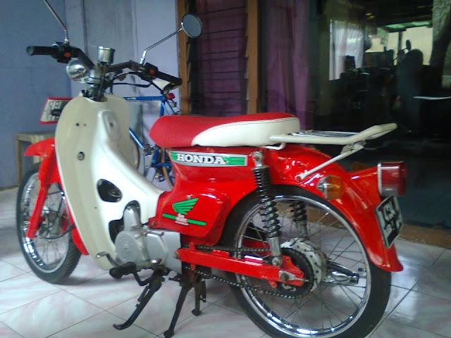 Foto Modifikasi Motor Honda 70 Terbaru 2015