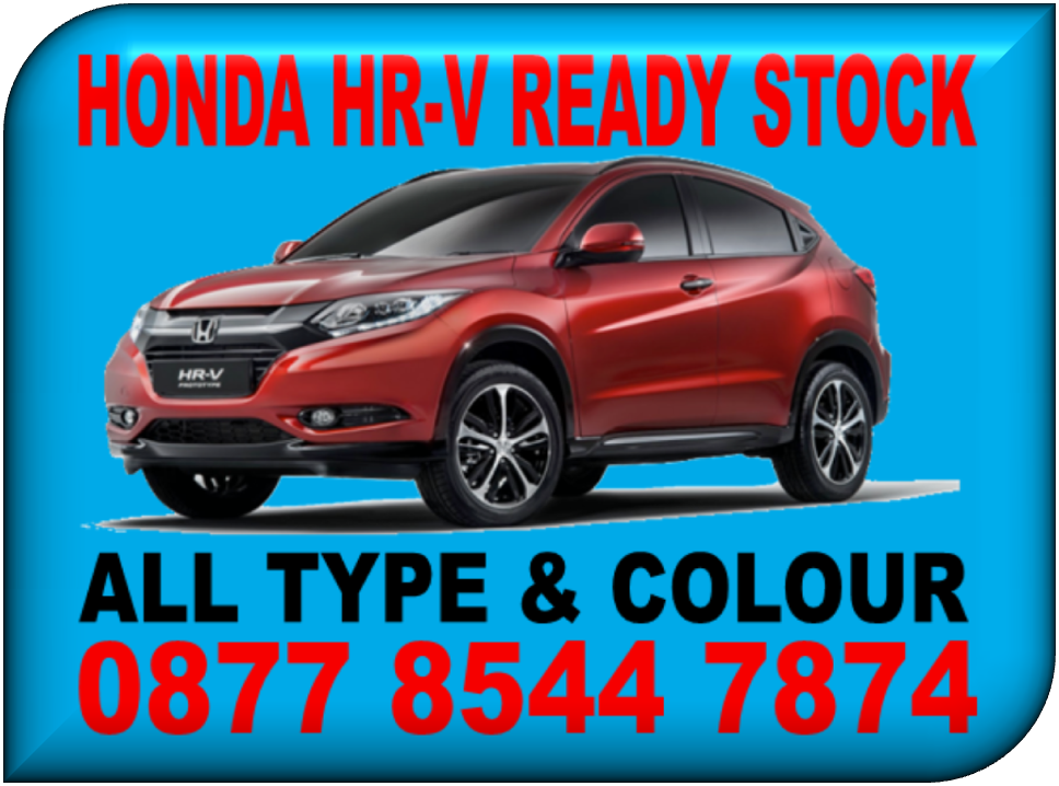 PROMO HONDA HR-V READY STOCK