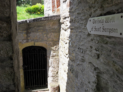 Holy Well of St Sampson at Golant Cornwall