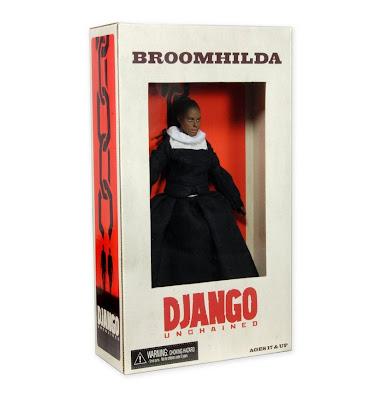 "NECA Django Unchained - 8"" Broomhilda figure"