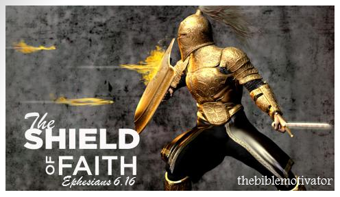 The Bible Motivator Shield Of Faith 1