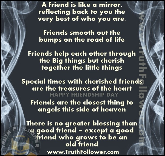Wonderful Quotes Thoughts On Friends For Friendship Day